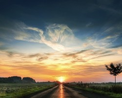 journey-road-sky-sun-travel